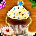 Muffins + Cupcakes Weihnachten icon
