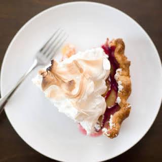 Plum Meringue Pie.