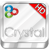 Crystal GO Launcher HD Theme