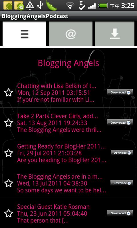 BloggingAngelsPodcast- screenshot