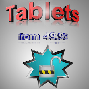 Tablets from 49.99 - screenshot thumbnail