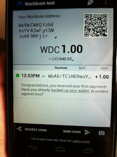 Worldcoin Wallet (Obsolete)- screenshot thumbnail