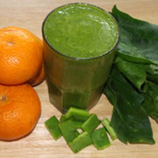 Tangerine Nopal Green Juice