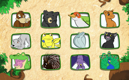 Live Puzzle! Forest Animals- screenshot thumbnail