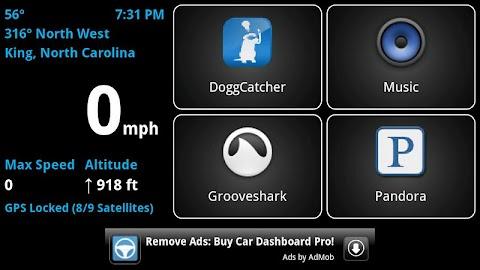 Car Dashboard (Free) Screenshot 2