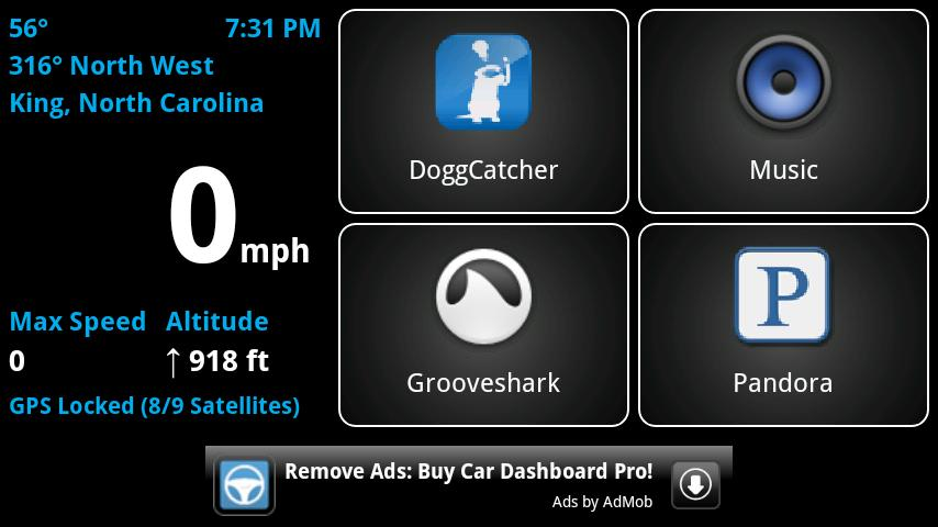 Car Dashboard (Free) - screenshot