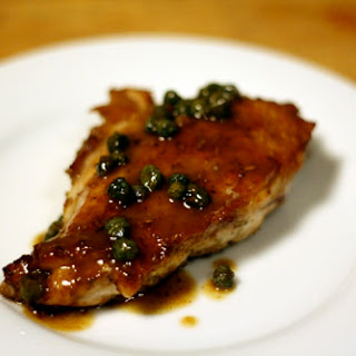 Fennel-Dusted Chicken with Brown Butter and Capers