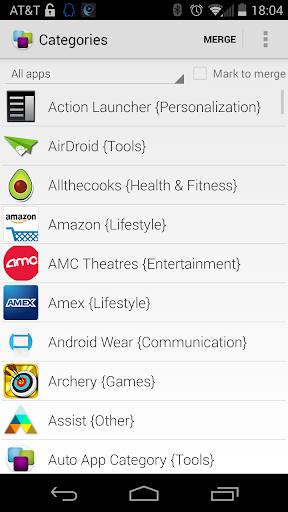 Auto App Category
