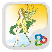 Lotus Fairy Theme Go Launcher