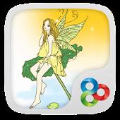 Lotus Fairy Theme Go Launcher