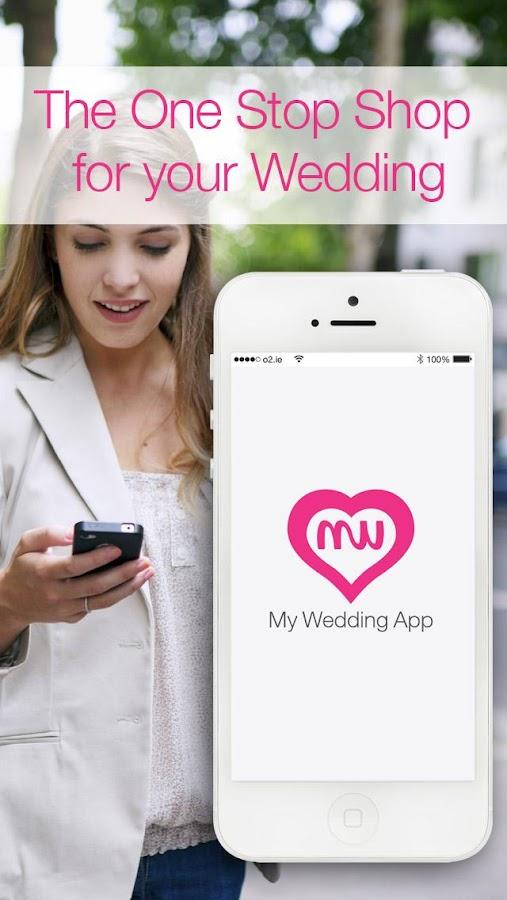 my wedding app screenshot