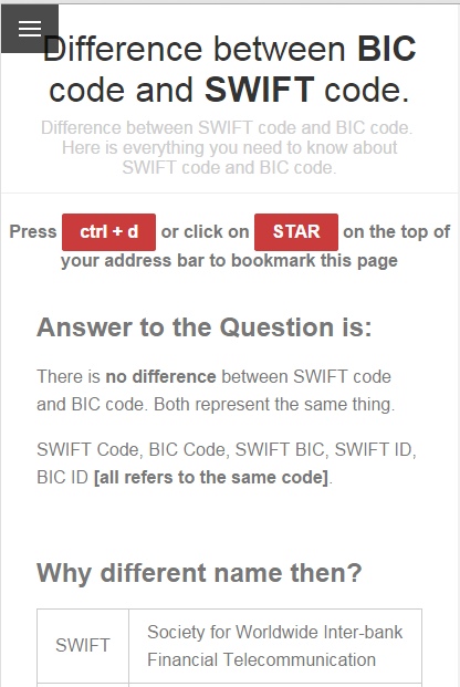 how to find bank swift code