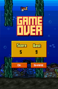 Flappy Goldy Fish- screenshot thumbnail
