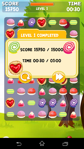 Jelly Sweet Dash :Match Game