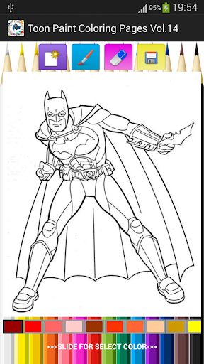 Toon Paint Coloring Pages V.14