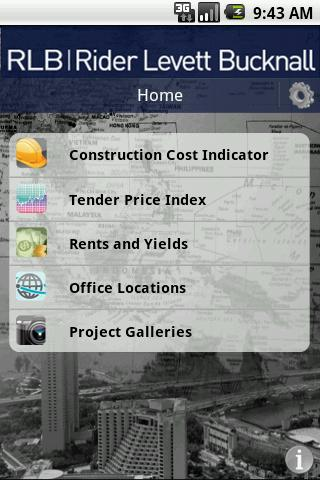 RLB Construction Intelligence - screenshot