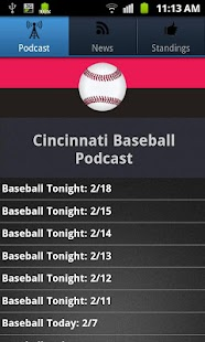 Cincinnati Baseball - screenshot thumbnail