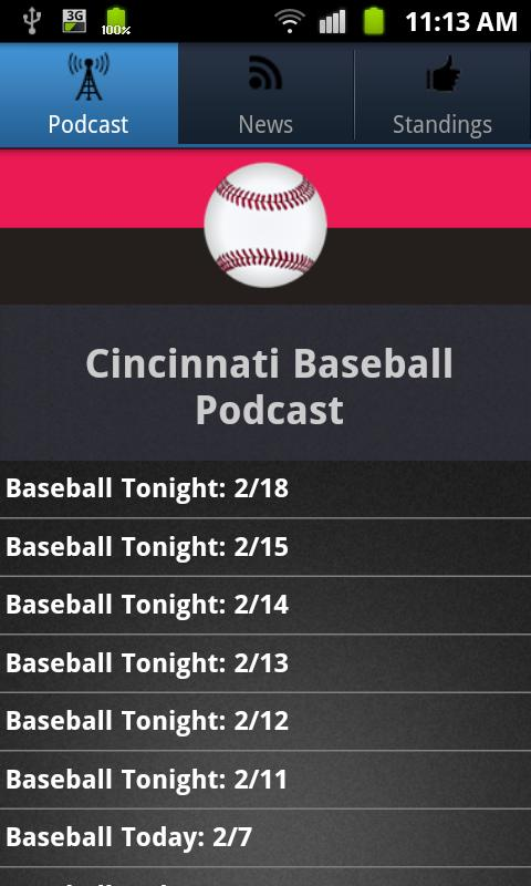 Cincinnati Baseball - screenshot