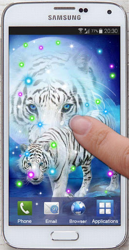 免費個人化App|Tiger White Tale LWP|阿達玩APP