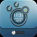 IPhone Bubble Magilocker theme logo
