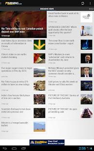 Mining News from MINING.com - screenshot thumbnail