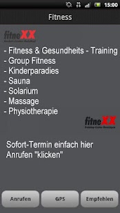 fitneXX - náhled