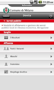 Referendum Milano- screenshot thumbnail