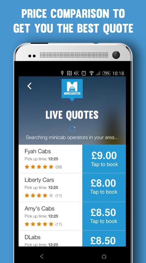 Minicabster - screenshot