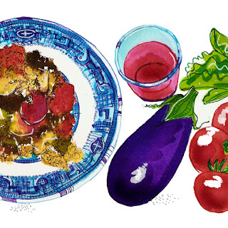 Moussaka - by Nancy Taylor Robson