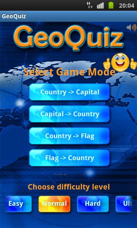 Geo Quiz- screenshot