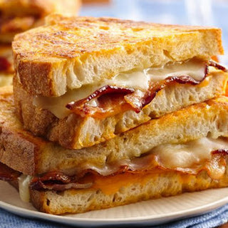Bacon Battered Grilled Cheese