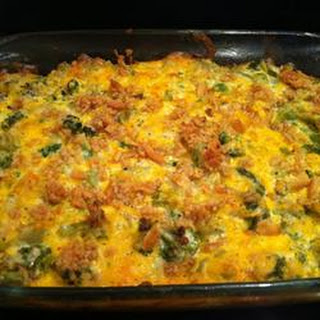 Awesome Broccoli-Cheese Casserole.