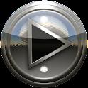 PowerAMP кожи серебро icon