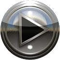 Poweramp 皮膚スターリングシルバー icon