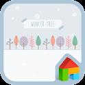 winter tree dodol theme icon