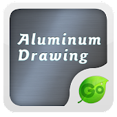 Aluminum Drawing GO Keyboard
