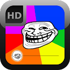 Troll Face Meme Lockscreen icon