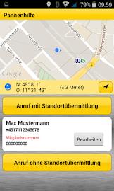 ADAC Pannenhilfe Screenshot 2