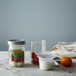 Two BNTO Canning Jar Lunchbox Adaptors