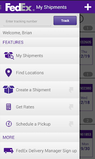 FedEx Mobile - screenshot thumbnail