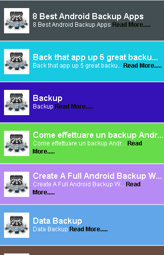 How to Back Up