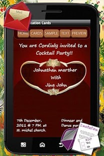 Party Invitation Card - screenshot thumbnail