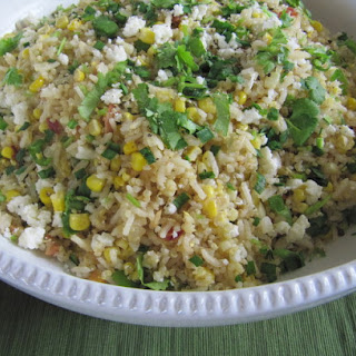 Summer Corn Salad with Toasted Grains.