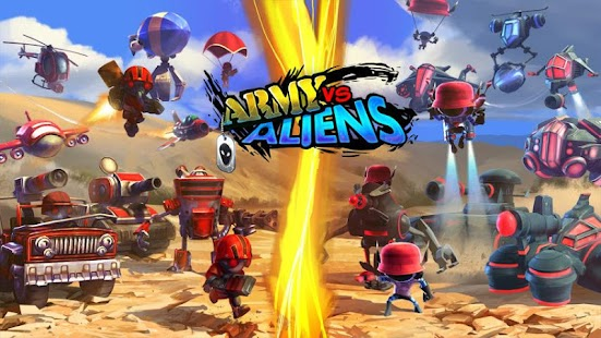Army Vs Aliens Defense - screenshot thumbnail
