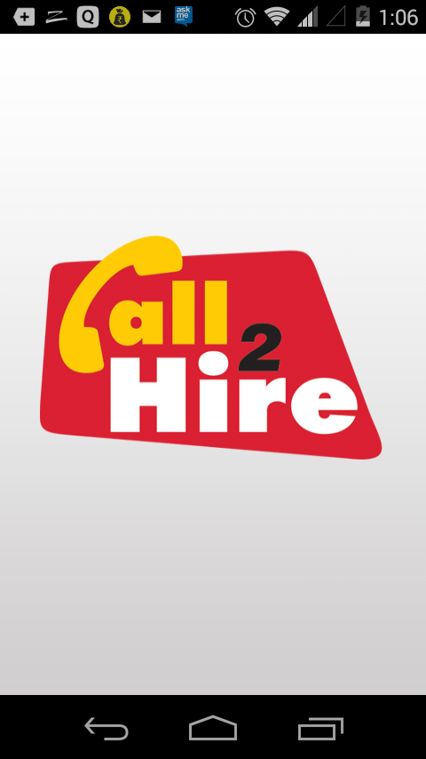 Call2Hire- screenshot