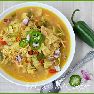 Thai Cabbage and Chicken Soup.