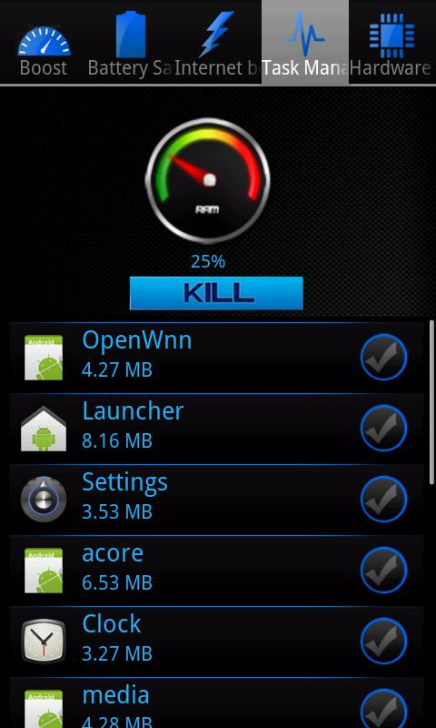 Smart Booster - screenshot