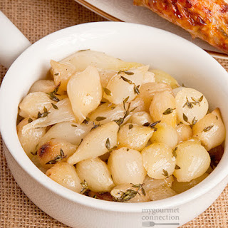 Thyme-Roasted Pearl Onions