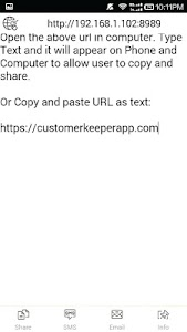 Clipboard: share text via wifi screenshot 8