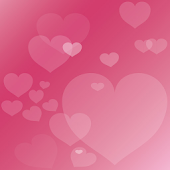Xperia™ theme Pink Hearts